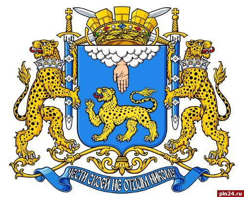 Флаг псков — официальный флаг города