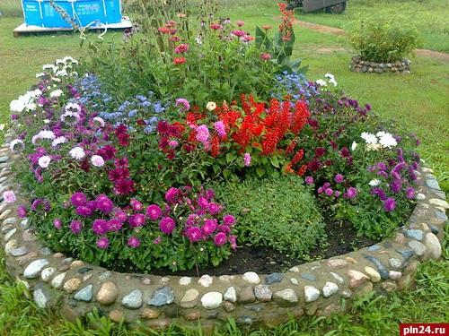 Красивые садовые участки своими руками фото