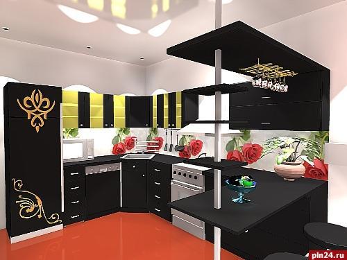 Дизайн кухни 30 кв.м фото в частном
