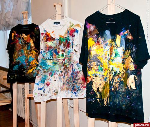 Авторские футболки Артиса Буте