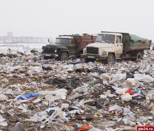 Свалку в Пскове закроют не раньше 2015 года