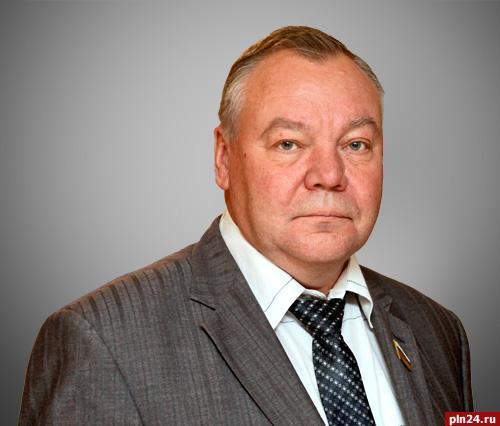 Депутат Псковского областного Собрания депутатов Владимир Яников