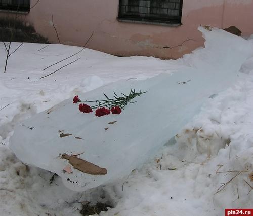 На 3 года осужден начальник пожарной части, по вине которого мальчик погиб под глыбой льда в Великих Луках