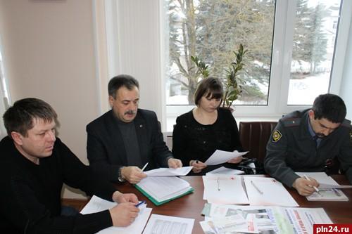 В Красногородске прошло обсуждение противотуберкулёзных мероприятий