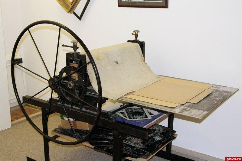 Печатный станок своими руками 845