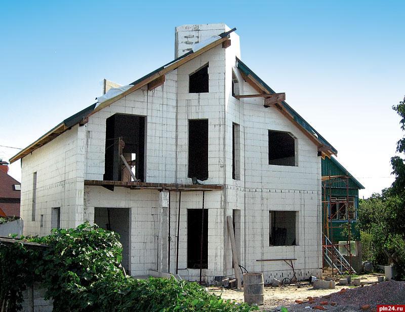 Дом из пенополистирола своими руками фото
