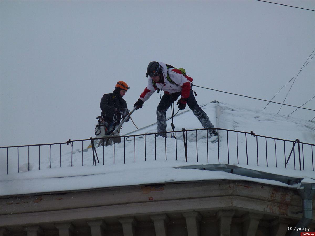 Промышленный альпинизм или высотные работы