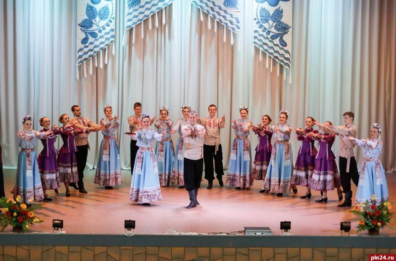 Русские узоры в пскове танец