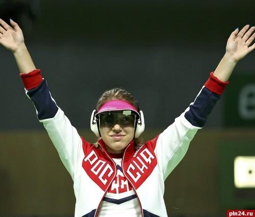 Россиянка Бацарашкина завоевала серебро встрельбе изпистолета наОИ вРио
