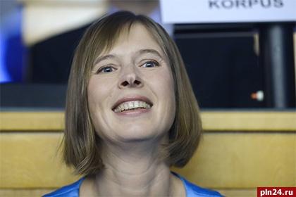 Керсти Кальюлайд официально вступила вдолжность президента Эстонии