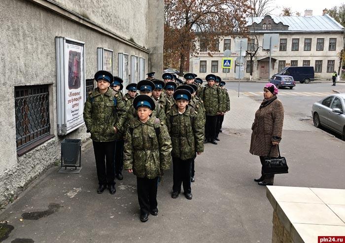 НаСтаврополье кадетам организовали «День вмузее»