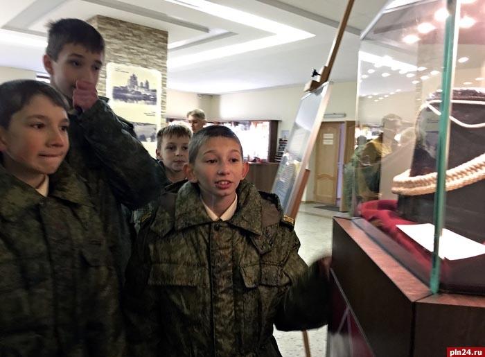 Архангельские кадеты побывали вСеверном морском музее