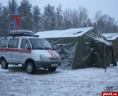 Натрассах вцентральной РФ развернули около 40 пунктов обогрева