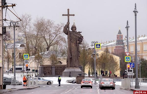 В столицеРФ открыли монумент правителю Владимиру
