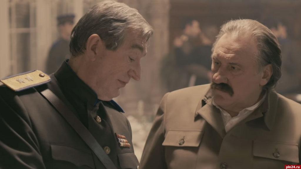 Жерар Депардье сыграл роль Иосифа Сталина