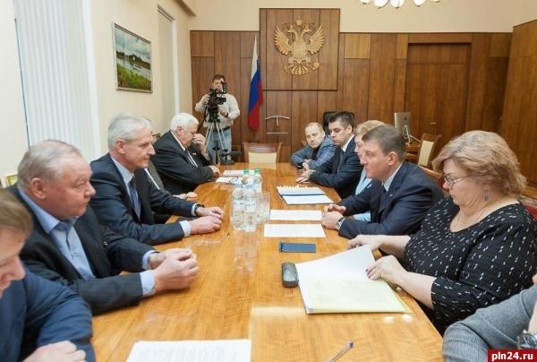 Органам местного самоуправления вПсковской области собираются передать дороги