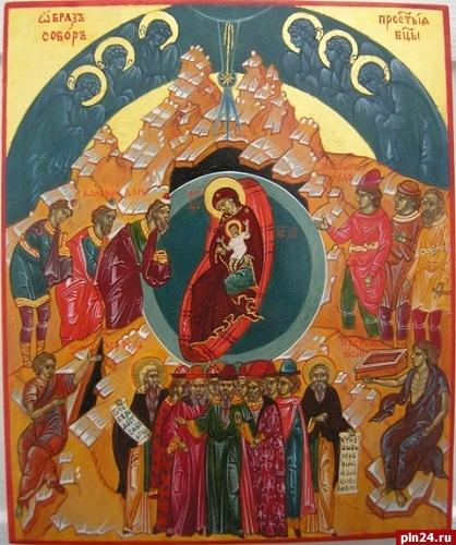 Путин приехал наРождество вновгородский монастырь
