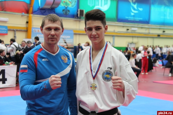 Псковичи стали чемпионами Российской Федерации потхэквондо