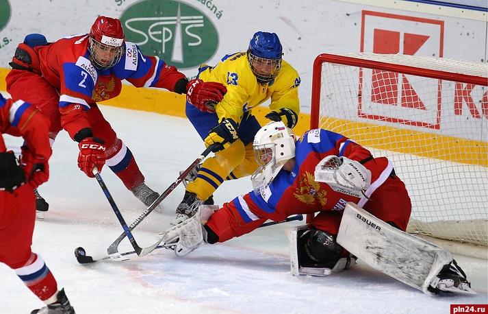 Юношеская сборная России похоккею завоевала бронзу ЧМ, обыграв шведов