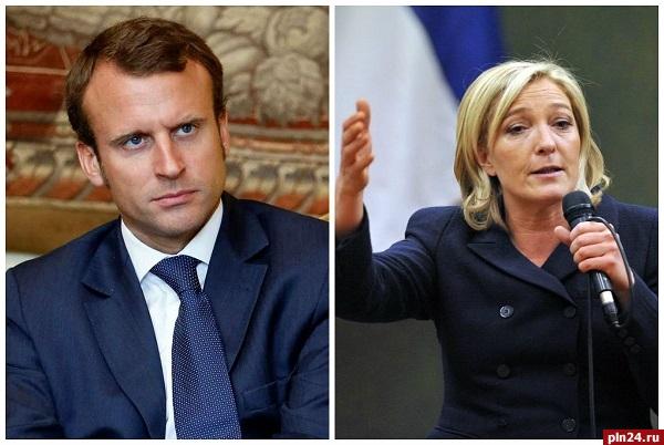 Олланд объявил, что поддержит Макрона вовтором туре президентских выборов воФранции
