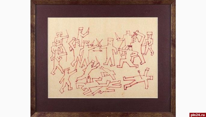 Рисунок Виктора Цоя продали нааукционе за250 тыс. руб.