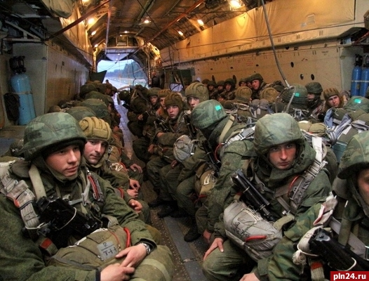 В 2-х районах Псковской области проходят масштабные учения десантников