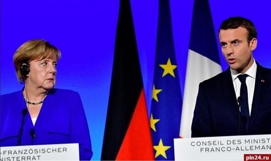 Макрон иМеркель назвали недопустимыми заявления осоздании Малороссии