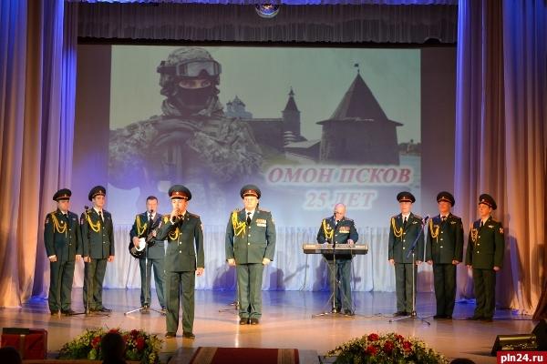 Бойцы ОМОНа Управления Росгвардии поПензенской области подчеркнули профессиональный праздник