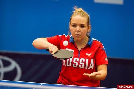 Псковская теннисистка Александра Васильева завоевала «серебро» чемпионата Европы