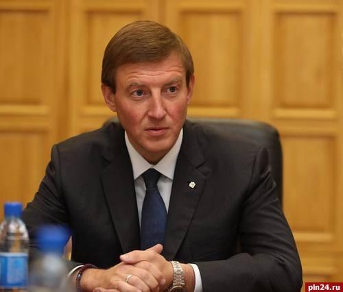 Врио губернатора Псковской области представят 13октября