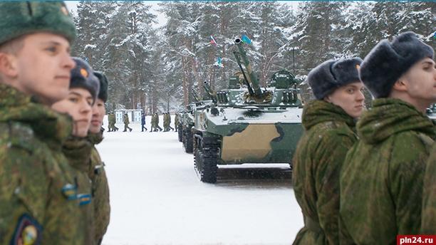 Новые боевые машины поступили навооружение 104-го полка псковской дивизии