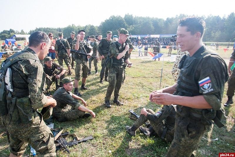 Российские десантники победили в третьем этапе Армейских международных игр