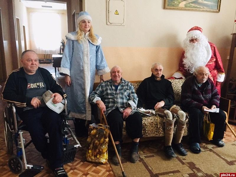 Дом для престарелых за пенсию в пскове идея бизнеса дом престарелых