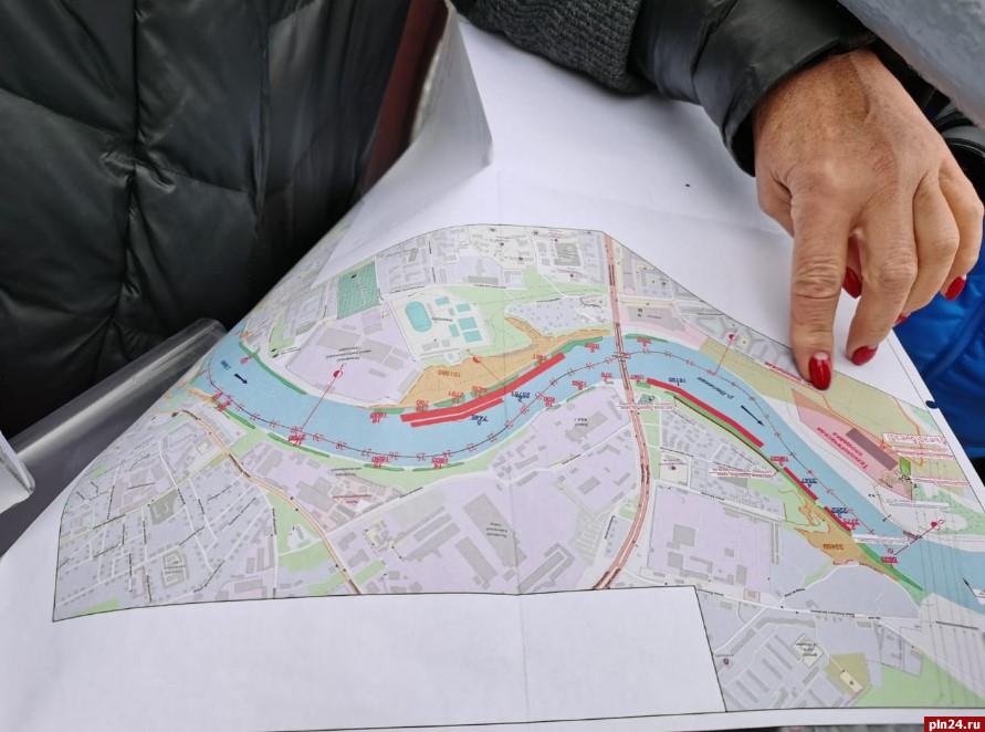 Первый этап по расчистке реки Великой завершили в Псковской области, фото-2