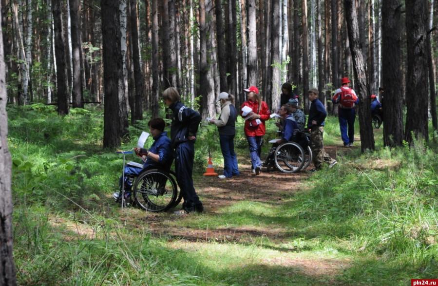Псковичи победили на чемпионате России по ориентированию среди инвалидов