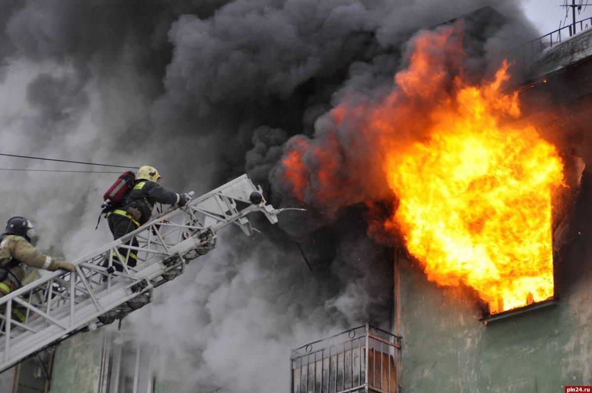 39 человек погибли на пожарах за полгода в Псковской области, фото-1