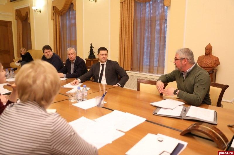 Вадминистрации Псковской области обсудили афишу 25-го Пушкинского театрального фестиваля