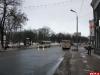На Октябрьском проспекте возле ликвидированного перехода установят 26-метровое ограждение