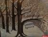 Выставку картин «наивной» художницы - смотрительницы Тригорского открыли в Баньке на усадьбе Осиповых-Вульфов