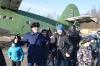 Воспитанники спортивной школы «Мастер» побывали в гостях у псковских летчиков