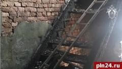 СКР опубликовал видео с места пожара в Острове, унесшего жизни 4 человек