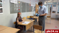 Глава Великих Лук принял участие в общероссийском голосовании