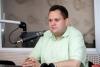 Василий Краснов принимает поздравления с разводом
