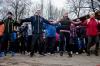 Утром 1 января 2017 года в Пскове состоялась массовая пробежка. ФОТОРЕПОРТАЖ
