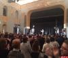Стоя и бурными аплодисментами проводили псковичи Пушкинский фестиваль