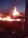 В Пскове ночью горел склад с картоном, пожар удалось потушить только утром