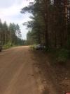 «Десятка» съехала в кювет на 13-м километре дороги Великие Луки - Жигари. ФОТО