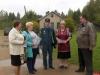 В деревне Кресты Красногородского района провели сход граждан по вопросам пожарной безопасности