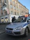 На перекрестке улицы Горького и Рижского проспекта в Пскове образовалась пробка