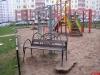 Фотофакт: Вандалы изуродовали детскую площадку на ул. Генерала Маргелова, 23